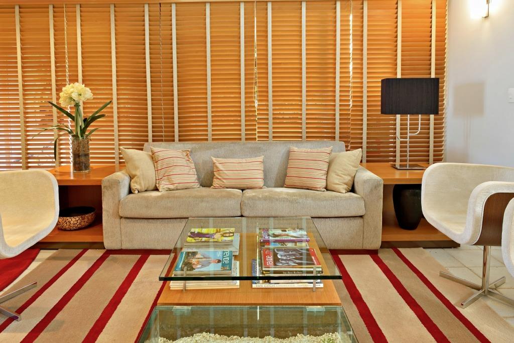Interior no estilo contemporâneo